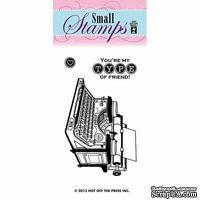Набор акриловых штампов HOTP - Small You're My Type Stamp, размер 5,1х7,6 см