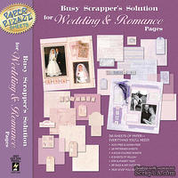 Набор бумаги HOTP - Busy Scrapper's Solution-Wedding & Romance, 36 листов, 30х30 см