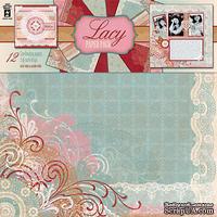 Набор скрапбумаги HOTP - Lace Paper Pack, 12 листов, размер 30х30 см