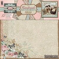 Набор скрапбумаги HOTP - Handmade Memories Paper Pack, 12 листов, размер 30х30 см