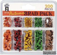 Набор брадсов HOTP - Autumn Brads, 200 шт