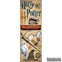 Набор наклеек Creative Imaginations -  Harry Potter Cardstock Stickers - Gryffindor
