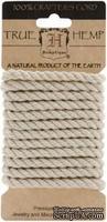 Шнурочек-канат Hemptique - NATURAL HEMP ROPE, длина 2 м, толщина 6 мм,  натурального цвета