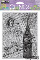 Резиновый штамп Hero Arts - London Background, c оснасткой