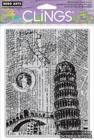 Резиновый штамп Hero Arts - Italy Background, c оснасткой