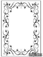 Папки для тиснения Nellie Snellen Embossing Folder - Rectangle Frame 1 - ScrapUA.com