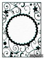 Папки для тиснения Nellie Snellen Embossing Folder - Round Frame 1