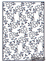 Папки для тиснения Nellie Snellen Embossing Folder - Small Flowers 1