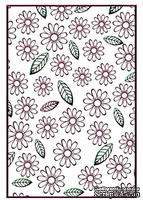 Папки для тиснения Nellie Snellen Embossing Folder - Flowers & Leaves