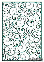 Папки для тиснения Nellie Snellen Embossing Folder - Swirls 1