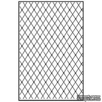 Лезвие Nellie's Choice - Embossing folder A4 size - Lattice