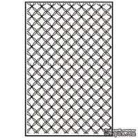 Лезвие Nellie's Choice - Embossing folder A4 size - Gauze