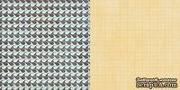 Лист скрапбумаги GCD Studios - Lakeside - The Great Outdoors Collection - двусторонняя, 30х30 см