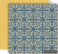 Лист скрапбумаги GCD Studios - Heirloom - Splendor Collection - двусторонняя, 30х30 см