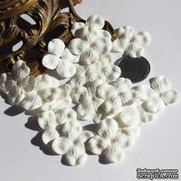 Гортензия, цвет: белый, 2,5 см,  20 шт. - ScrapUA.com