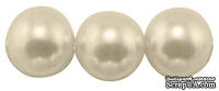 Бусины на нити Ivory, 4мм, отверстие: 1мм, цвет слоновая кость, 1 шт.