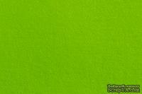 Отрез фетра 20*30 см 1,4 мм 100% полиэстер, ярко-зеленый