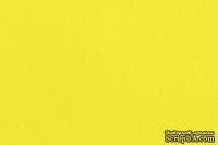 Отрез фетра 20*30 см 1,4 мм 100% полиэстер, лимонно-желтый