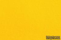 Отрез фетра 20*30 см 1,4 мм 100% полиэстер, желтый