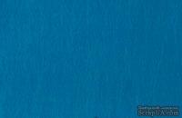 Отрез фетра 20*30 см 1,4 мм 100% полиэстер, синий