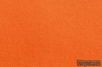 Отрез фетра 20*30 см 1,4 мм 100% полиэстер, оранжевый