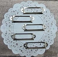 Рамки металлические декоративные - Сталь, 5 шт.