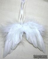 Ангельские крылья на подвесе от Scrapberry's, 10х12 см