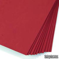Фоамиран от Hobby&You, 50x50 см, 1 мм,  красный, 1 шт. - ScrapUA.com