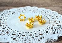 Металлические украшения от Hobby&You - Короны -Золото, 5 шт