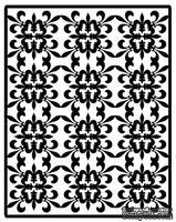 Шаблон для тиснения Spellbinders Impressabilities Dies - Fleur De Lis Pattern