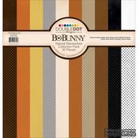 Набор двусторонней бумаги BoBunny - Natural Necessities, размер 30x30 см, 20 листов