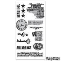 Набор резиновых штампов Hampton Art/7 Gypsies - Abundance, с оснасткой