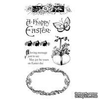 Набор резиновых штампов Graphic 45 - Sweet Sentiments - Cling Stamp 3, 10х21 см