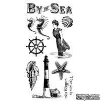 Набор резиновых штампов Graphic 45 - By the Sea - Cling Stamp 1, 10х21 см