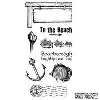 Набор резиновых штампов Graphic 45 - By the Sea - Cling Stamp 3, 10х21 см