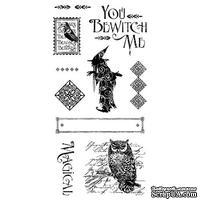 Набор резиновых штампов Graphic 45 - An Eerie Tale - Grim Fairytale 2, 10х21 см
