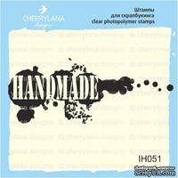 Штампы от Cherrylana - Hand Made с кляксами, 6х2,3 см