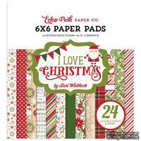 Набор бумаги от Echo Park - I Love Christmas, 15х15см