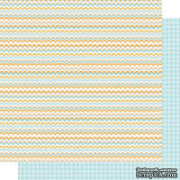 Лист скрапбумаги ILS - I love pattern 01-02, 30x30