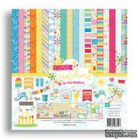 Набор бумаги для скрапбукинга от Echo Park -  I Love Sunshine, 12+2 листа, 30х30 см