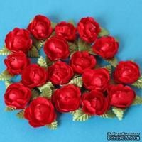 Цветочки пиона, цвет красный, 1 шт.