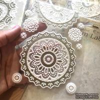 Самоклеющиеся кружевные салфетки от Scrapberry's - набор 2