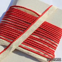 Каптал, с красной кромкой, ширина 12 мм,  длина 50 см