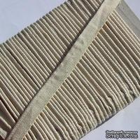Каптал, цвет молочный, ширина  8 мм,  длина 50 см - ScrapUA.com