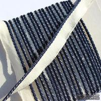 Каптал, с темно-синей кромкой, ширина 12 мм,  длина 50 см