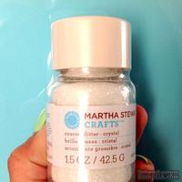 Глиттер от Martha Stewart - Martha Stewart Glitter Coarse Crystal 1.5oz, цвет белый кристалл 42,5 г
