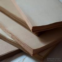 Блок для блокнота А6 состаренный ТЁМНЫЙ, 100 листов