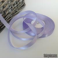 Атласная лента Violet, цвет сиреневый, ширина 10 мм, длина 90 см