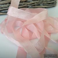 Лента Seam Binding Baby Pink, ширина 14мм, длина 90см