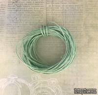 Вощеный шнур, салатовый, 0,7 мм, 5 метров